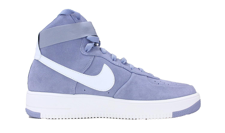 Nike Grey/Summit Hombres de Air Force D(M) 1 Ultraforce Hi Zapato
