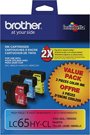 Equivalent to Brother LC-1033PKS C//M//Y-600 Page Yield LC-1013PKS SuppliesMAX Compatible Replacement for CIG118140 Inkjet Combo Pack