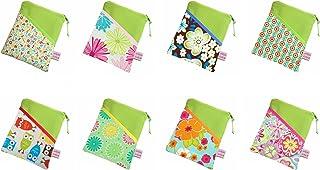 Werde selbst zum Designer: grüne eReader Tasche mit Stoff-/Farbauswahl eBook Reader Tablet Hülle, Maßanfertigung bis max. 10,9' z.B. für Kindle Paperwhite
