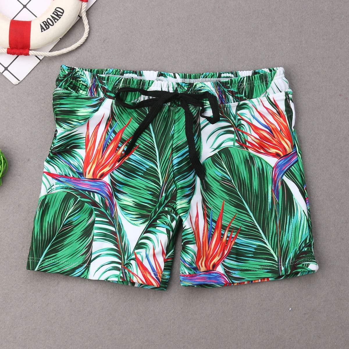 douleway Maman Et Moi Bikinis Taille Haute 2 Pi/èces Maillots De Bain,M/ère P/ère Fille Gar/çon Famille Correspondant Maillot de Bain,Maman Et Moi Bikinis Taille Haute 2 Pi/èces Maillots De Bain