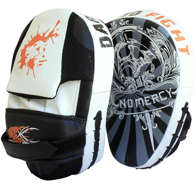 Y manoplas de entrenamiento para deportes de combate de lucha curvado para saco de boxeo Muay Thai Tigon Sports