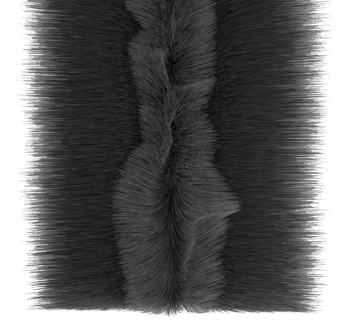 Stormguard 05 am054007mbl paquete doble puerta de garaje cepillo pelo burlete, Negro, 7 m 7m 05AM054007MBL