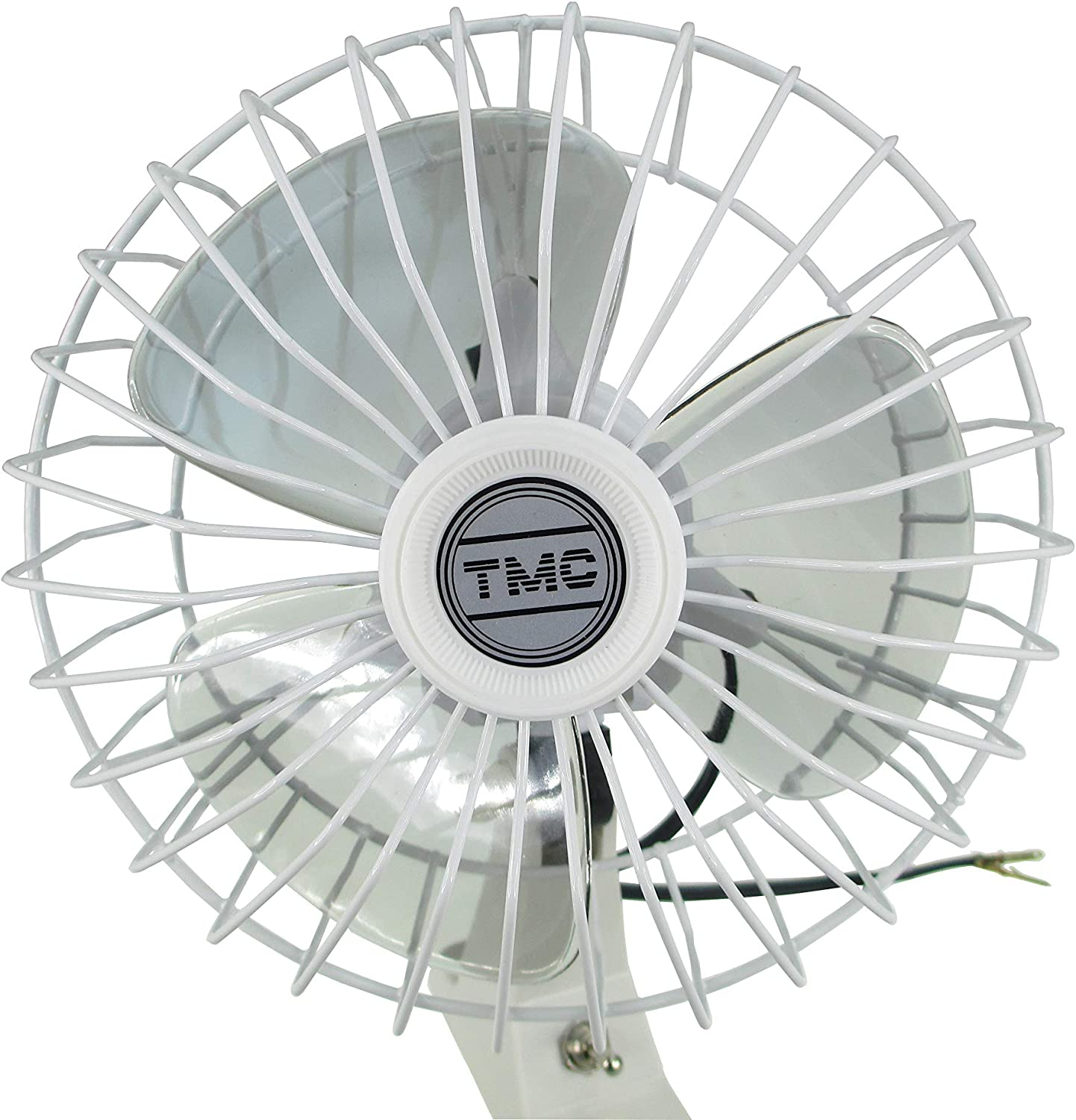 """Pactrade Marine Boat TMC 12V Whisper Quiet Oscillating Fan 6/"""" D Cabin And Galley"""