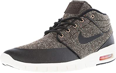 nike SB stefan janoski max mid mens trainers 807507 sneakers shoes (US 6,  baroque