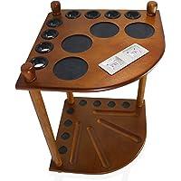 Keri & Joachim 8 Pool Cue Holder Rack Corner Floor Stand for Pool Cue Billiard Sticks and Pool Cue Accessories with…