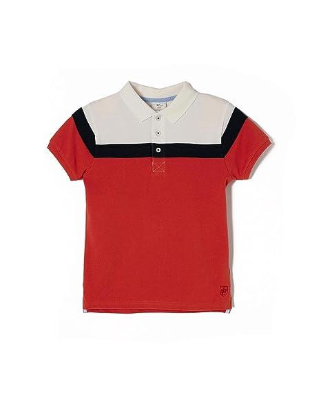 ZIPPY ZB0307_455_1 Polo, Rojo (Chili 513), ((Tamaño del Fabricante ...