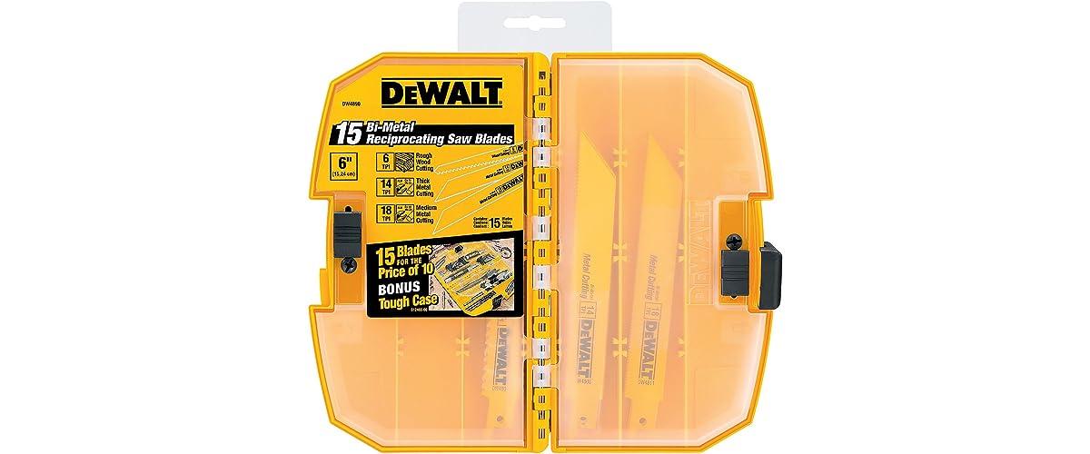 DEWALT DW4890 Reciprocating Saw Blades