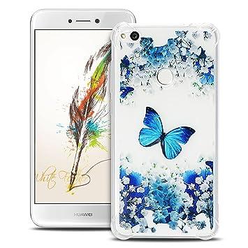 Anfire Funda Huawei P8 Lite 2017 Carcasa Transparente y ...