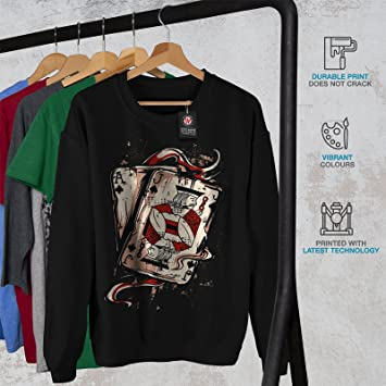 Wellcoda As Jack De Piques Homme Sweat-Shirt Carta/ Pull Occasionnel Pull