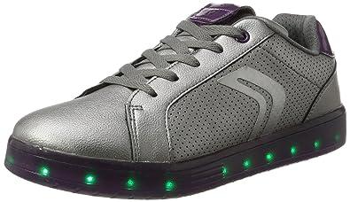 Basses J ASneakers Geox AdulteArgentdk Kommodor Mixte Silver T1cFK5uJl3