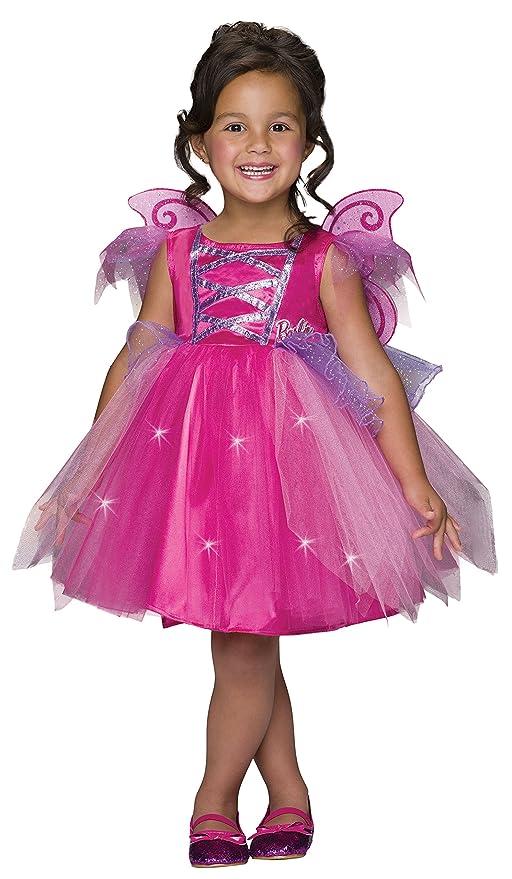 a18f101ed Amazon.com: Barbie Light-Up Fairy Dress Costume, Child's Small: Toys & Games
