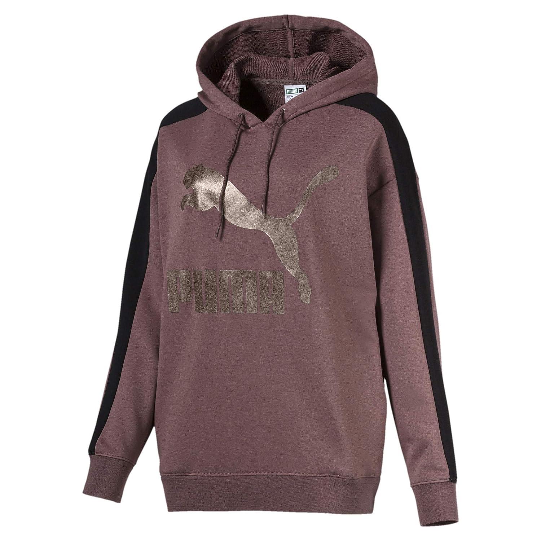 Puma Damen Classics Logo T7 Hoodie  Amazon.de  Sport   Freizeit c9f3252013