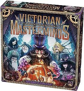 Asmodee Italia - Victorian Masterminds CMON - Juego de Mesa con espléndidas miniaturas, Color 8425: Amazon.es: Juguetes y juegos