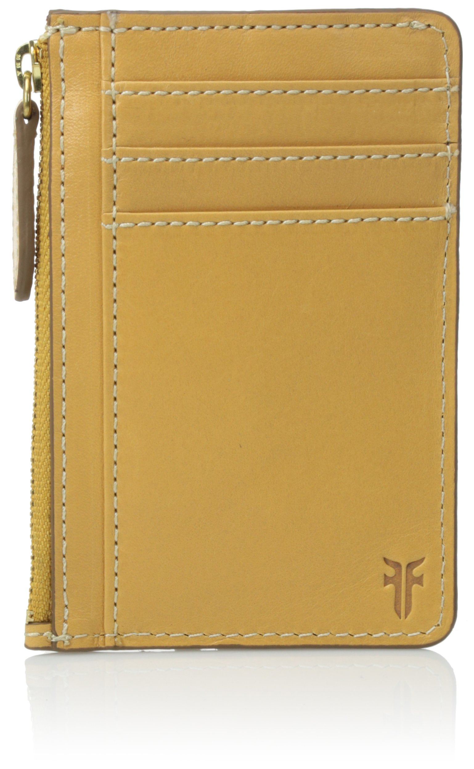 FRYE Women's Harness Id Card Case, Yellow, One Size