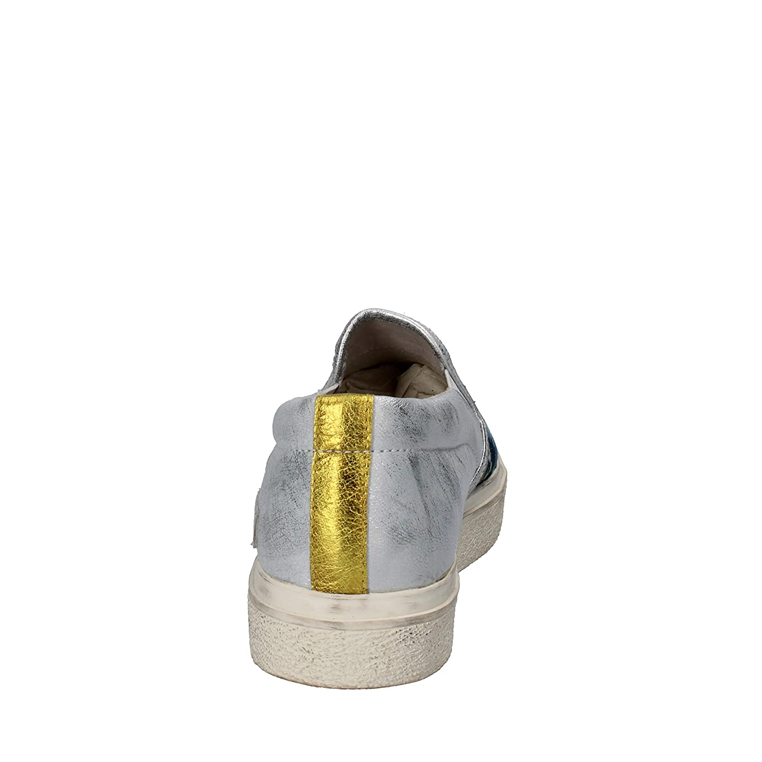 D.A.T.E. DATE Loafers-Shoes Womens Silver