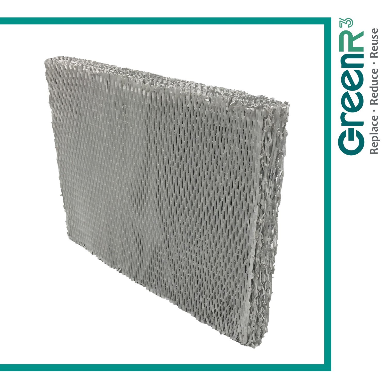 GreenR3 1-PACK Wick Filters Humidifiers for Aprilaire #35 Water Panel fits 560 Honeywell HE260 260A Bryant HUMBALBP 2317 Carrier HUMBBLBP 2217 Lennox WB2-17 Totaline P110-LFP1218 35R Part and more Compatible