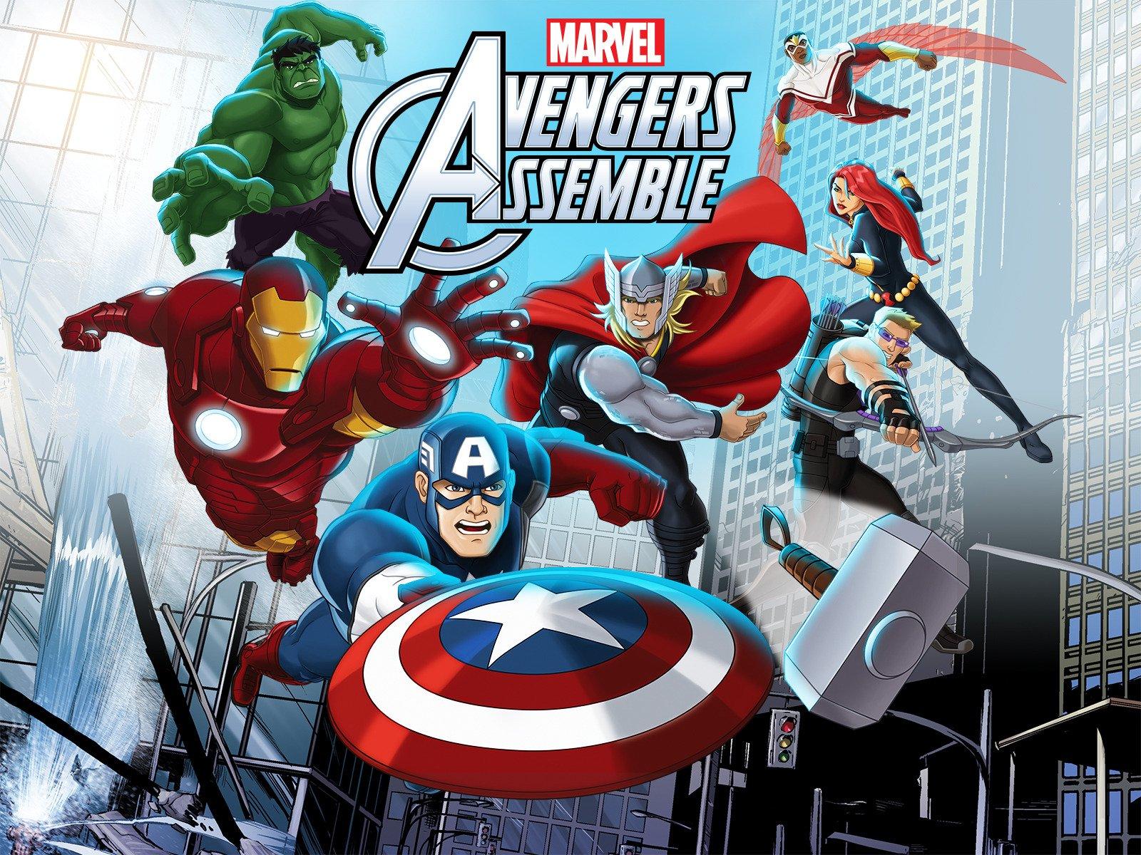 Watch Marvel's Avengers Assemble - Season 2, Volume 2   Prime Video