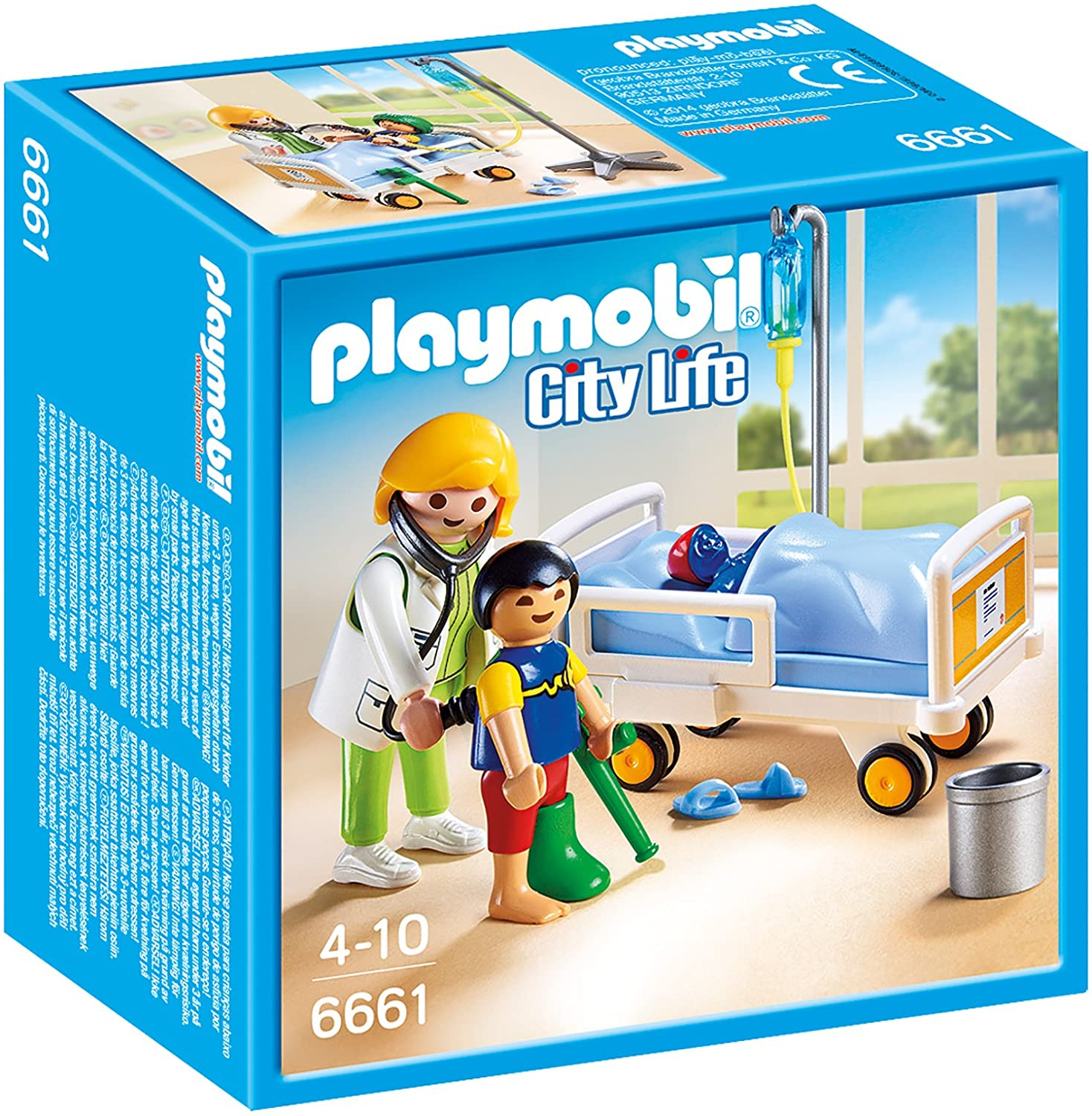 Playmobil Ärztin am Kinderkrankenbett - Playmobil 6661