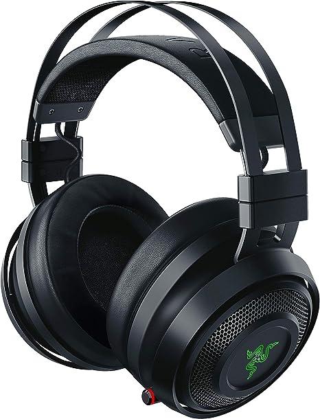 Image ofRazer Nari Auriculares Inalámbricos para juegos con THX Spatial Audio, Almohadillas con Gel de enfriamiento, micrófono con balance de juego/chat, Color Negro