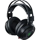 Razer Nari Wired/Wireless Gaming Headset with THX Spatial Audio, Cooling Gel Cushion, 2.4 GHz Wireless Audio…