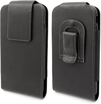 Mopaclle Apple iPhone 7 Plus Funda para Cinturón Clip Case, Vertical Cinturón Clip Holster con Broche Magnético para iPhone 6 6s 7 Plus (Fits with ...