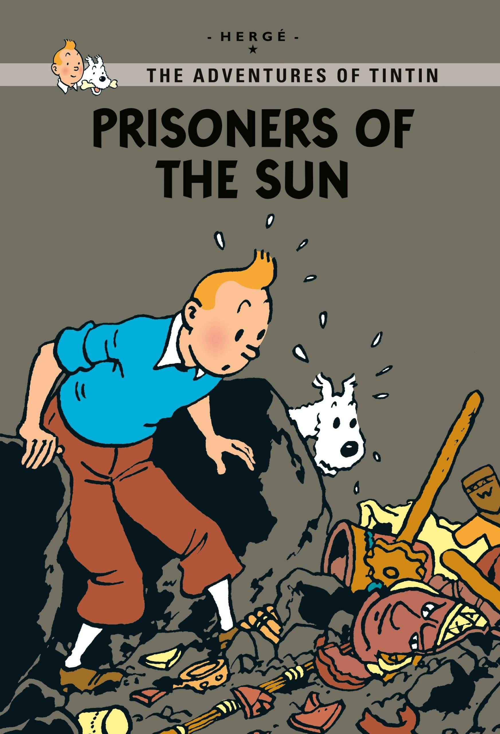 Prisoners Of The Sun Tintin Young Readers Georges Remi Herge 9781405275231 Amazon Books