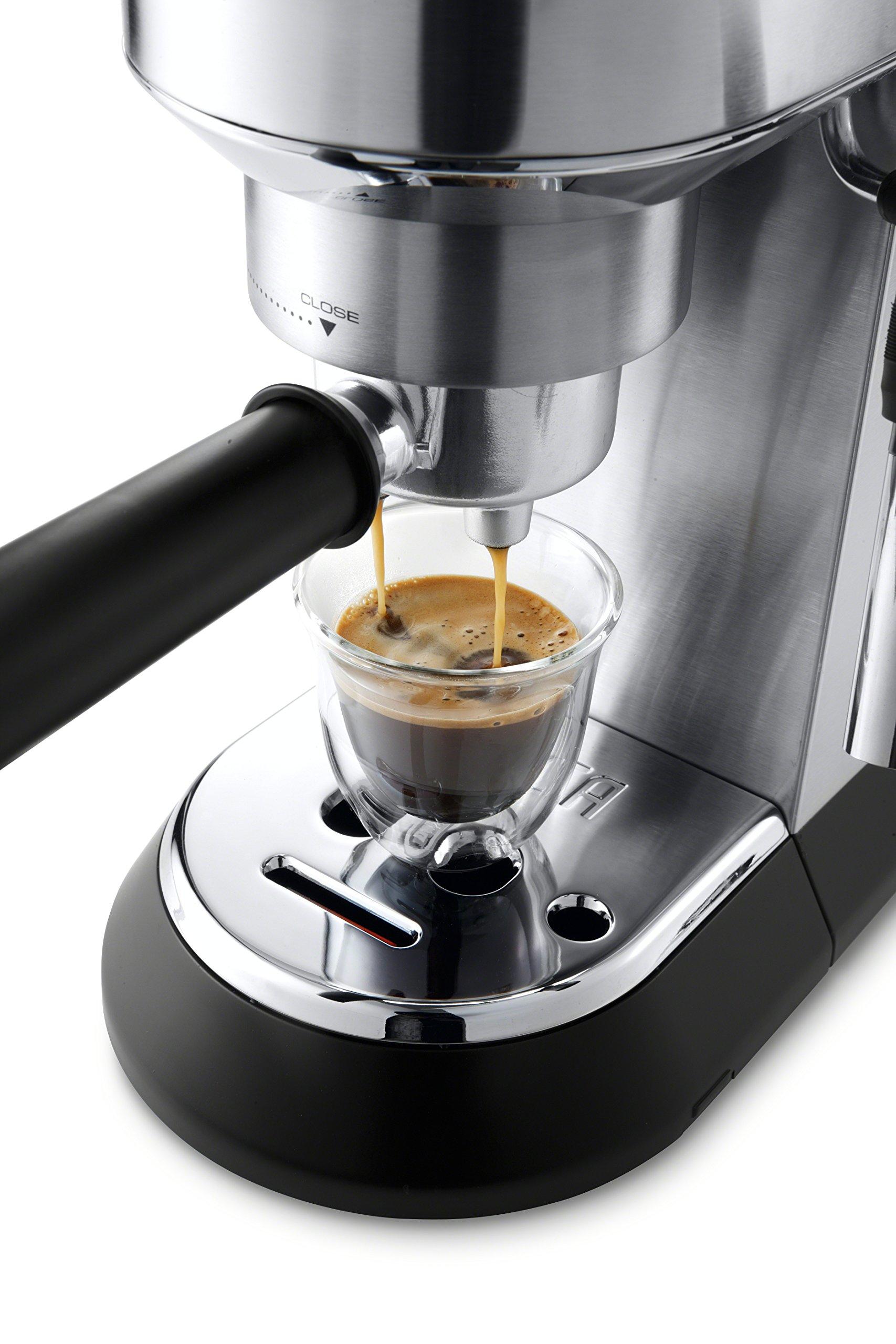 DeLonghi America, Inc EC685M Dedica Deluxe espresso, Silver by DeLonghi America, Inc (Image #5)