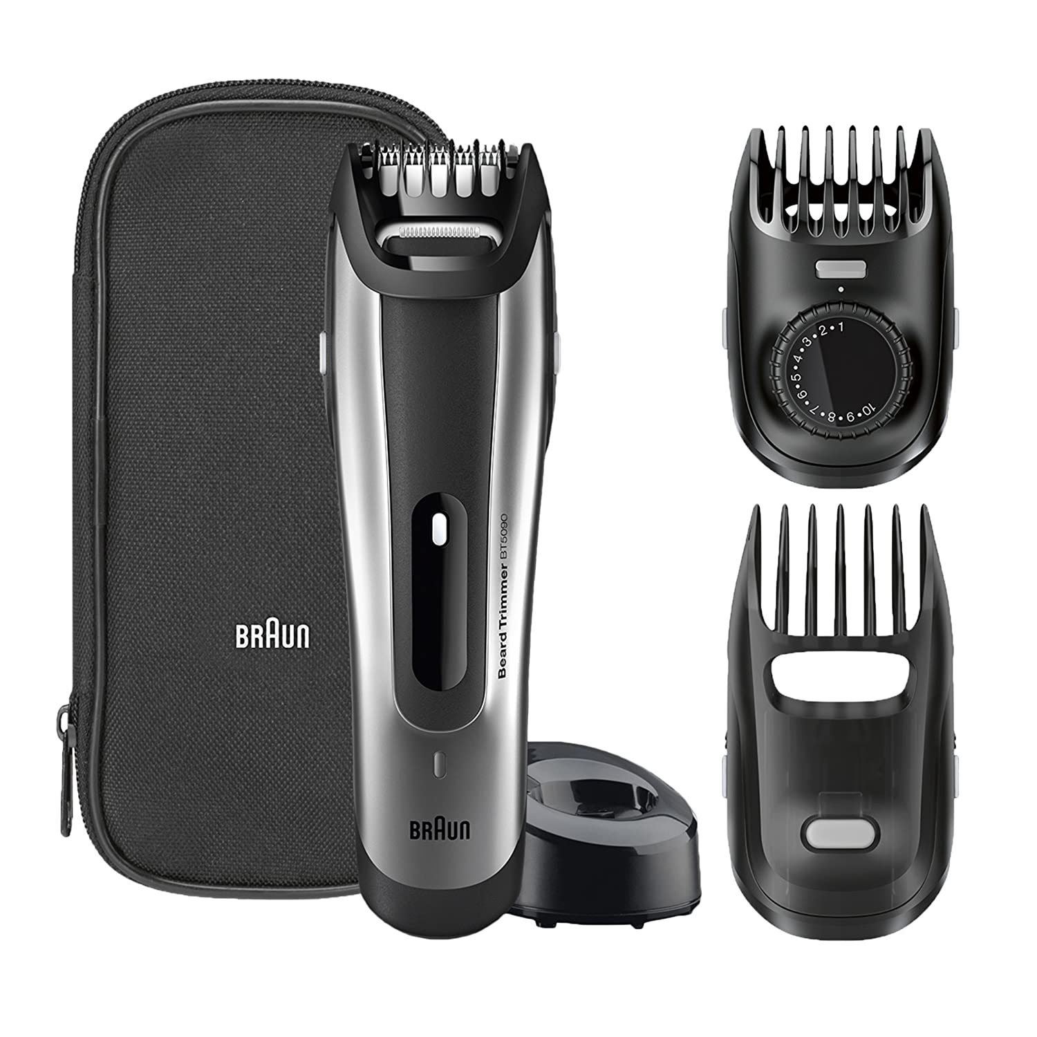 Braun BT5090 Beard Trimmer, Precision Facial Hair, Precision for the Beard Style, 0.5 mm Step Sizes Procter & Gamble 4210201130185