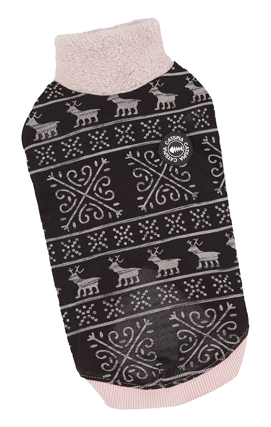 CATSPIA Dasher Sweater, Large, Pink