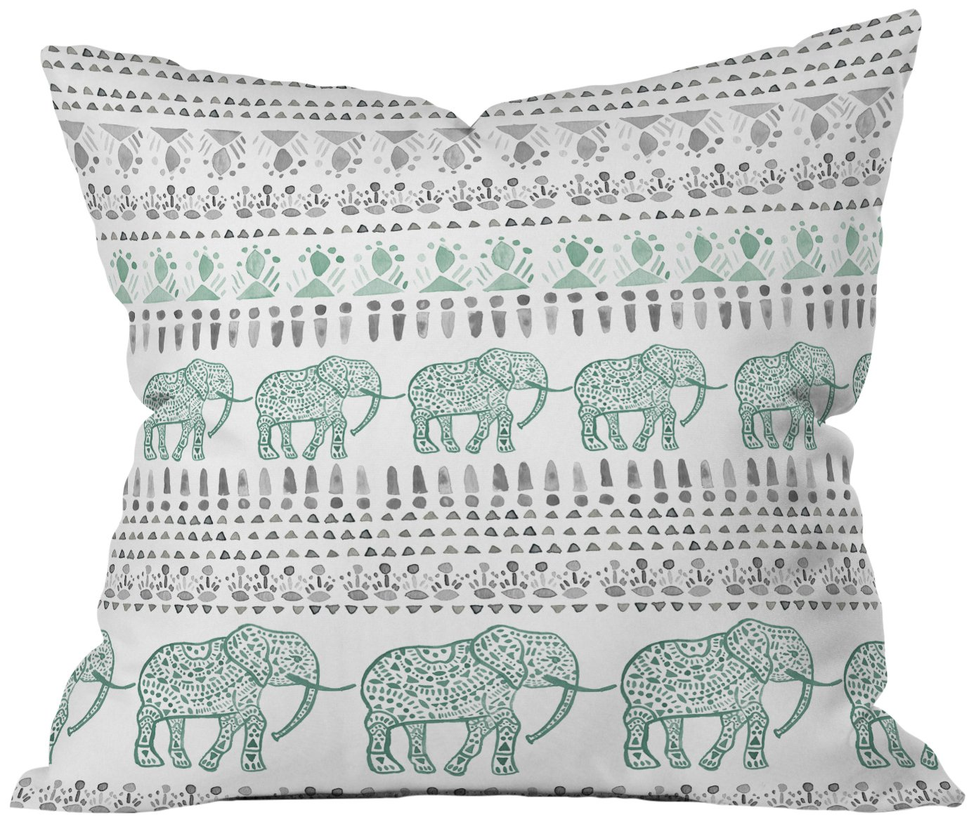 Delight Way Deny Designs Dash and Ash Throw Pillow