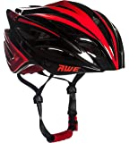 AWE® AWEBlade™ FREE 5 YEAR CRASH REPLACEMENT* In Mould Adult Mens Racing Cycling Helmet 58-61cm Black/Red