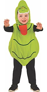 rubies unisex baby classic ghostbusters ez on slimer romper costume