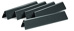 Weber 7636 Porcelain-Enameled Flavorizer Bars for Spirit 300 Series Gas Grills (15.3 x 2.6 x 2.5)
