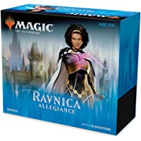 Magic: The Gathering Ravnica Allegiance Bundle   10 Booster Packs + Land Cards (230 Cards)   Accessories
