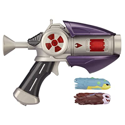 Slugterra, Dr. Blakk's Blaster 2.0 Harbinger Firestorm with 2 Firing Slugs: Toys & Games