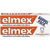 Elmex Zahnpasta, Doppelpack (2 x 75 ml)