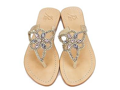 646ea91e0 PASHA Genuine Leather Jeweled Shoes