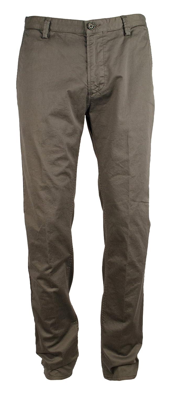 ad84813d Amazon.com: Hugo Boss Boss Men's Rice Slim fit Chino Pants-G-38R Grey: Hugo  Boss: Clothing