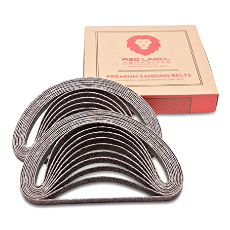 Useful Sandpaper Sanding Belt Abrasive Band Sander Durable Aluminum Oxide 40-120 Grit~# In Many Styles Tools