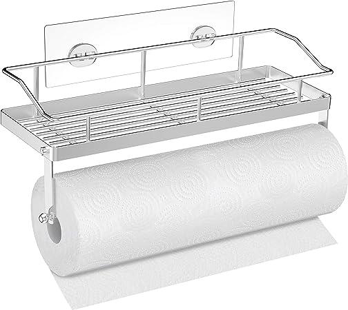 Bathroom Toilet Storage Narrow Cabinet Paper Towel Rack Organizer SHelf Holder
