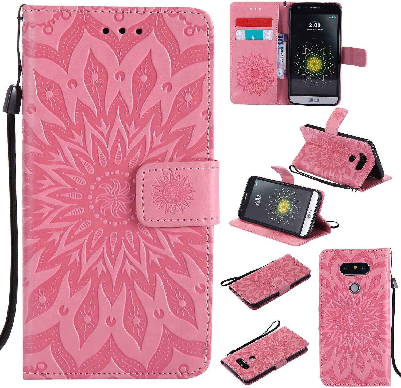 pinlu Flip Funda de Cuero para LG G5/LG G5 SE 5.3