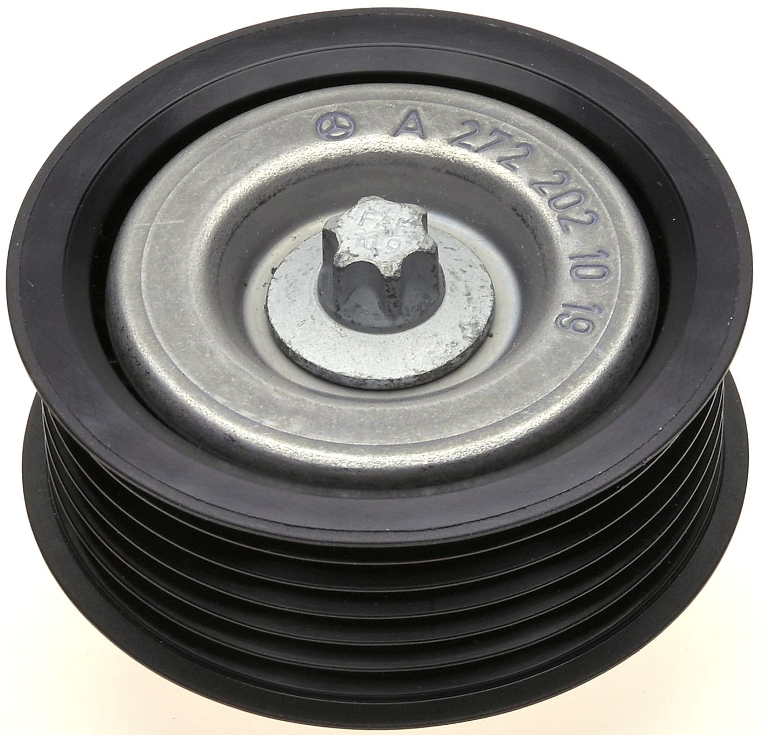 ACDelco 38099 Professional Flanged Idler Pulley with Bolt, Insert, and Dust Shield