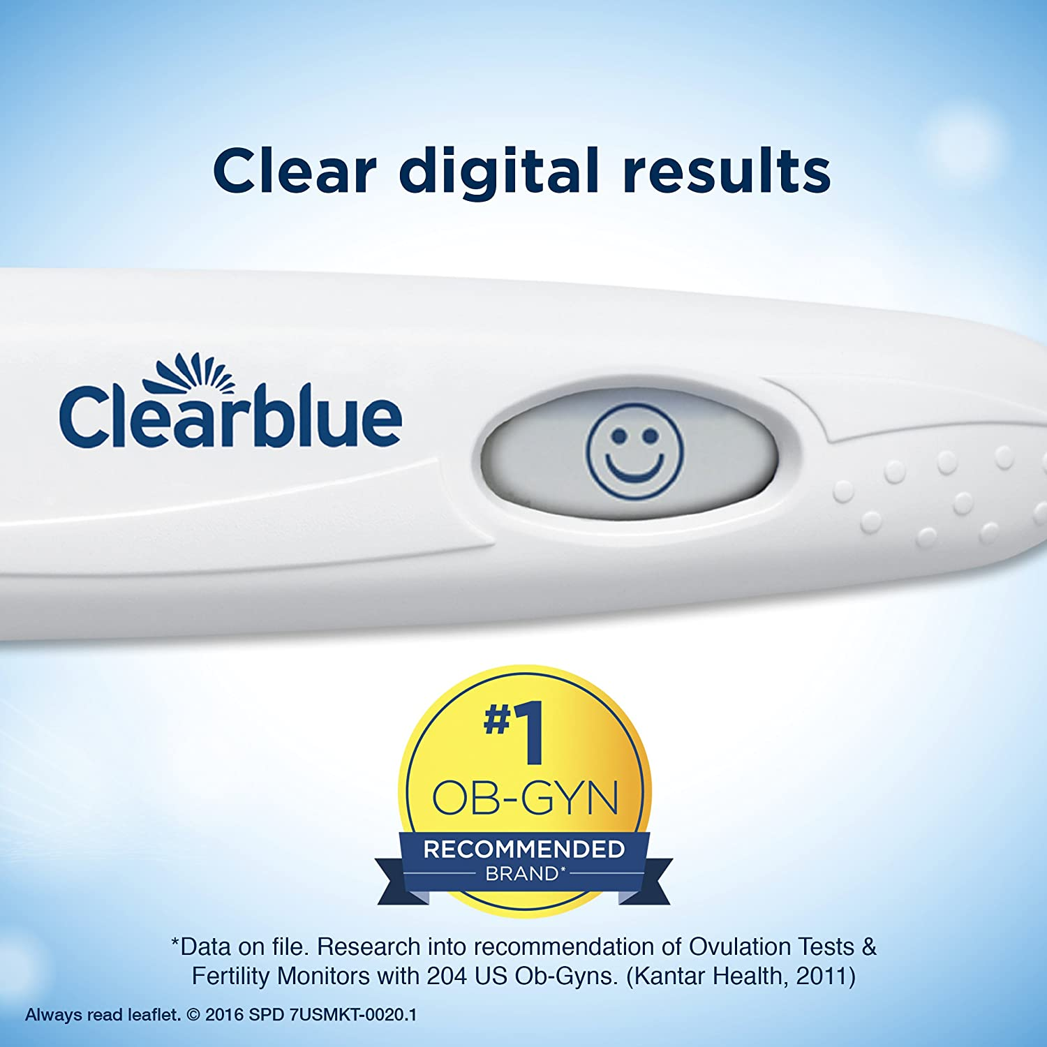 Amazon Clearblue Digital Ovulation Test 10 Ovulation Tests