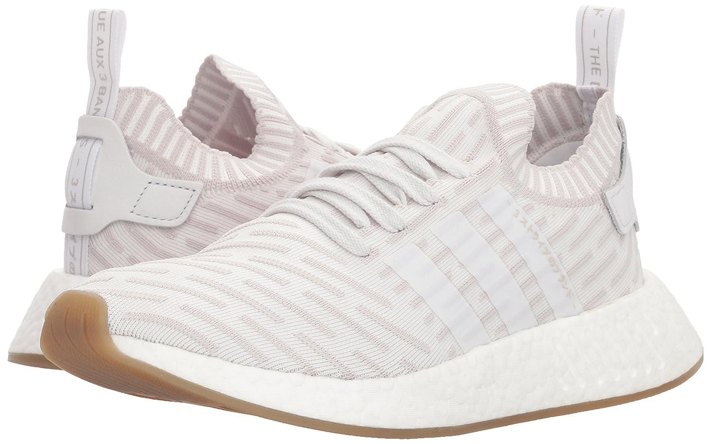 adidas Originals Women's NMD_r2 Pk B(M) W Sneaker B0775JHZGF 10.5 B(M) Pk US White/White/Shock Pink a733fd