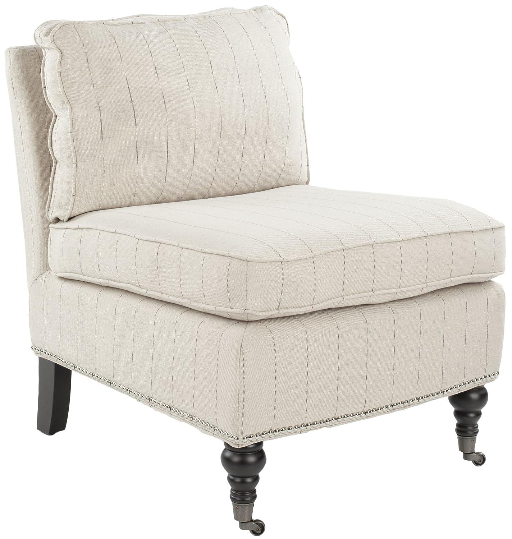 Amazon Safavieh Mercer Collection Randy Slipper Chair Flax