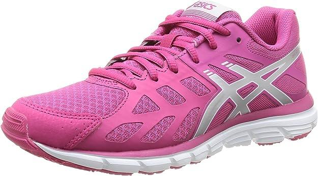Asics Gel Zaraca 3 - Zapatillas de Running para Mujer, Color Rasp/Silv/PURP, Talla 36: Amazon.es: Zapatos y complementos