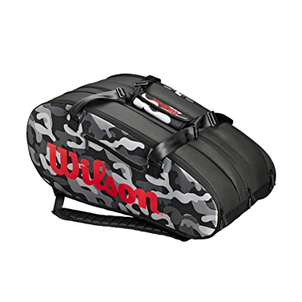 Wilson Super Tour 3 Compartment CAMO Tennis Bag