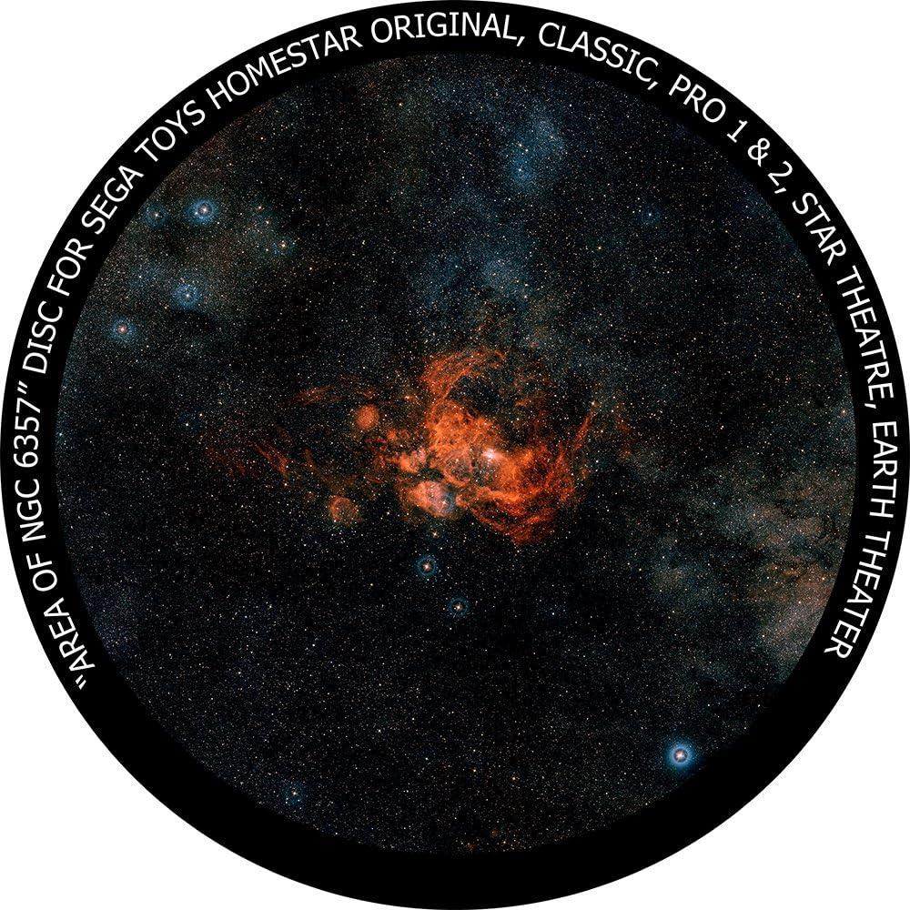 Area of NGC 6357 - disc for Sega Toys Homestar Classic/Flux/Original Planetarium