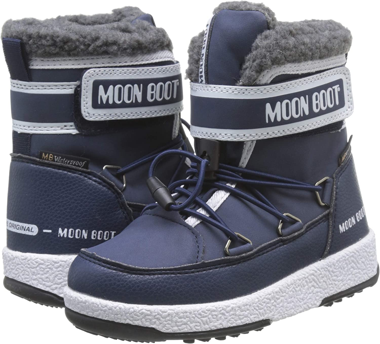 Bottes de Neige Gar/çon Moon-boot Jr Boy Mid WP