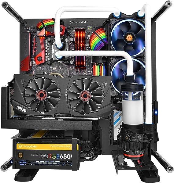 Thermaltake Cable, Mantel y Accesorios internos Combo Pack ttmod - Rainbow - Kit de Cable de alimentación con Rodillos: Amazon.es: Informática